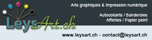 Logo leysart.ch 80 x 300 pixels
